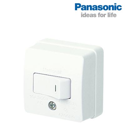 CÔNG TẮC ĐƠN LOẠI NỔI PANASONIC WSG3001