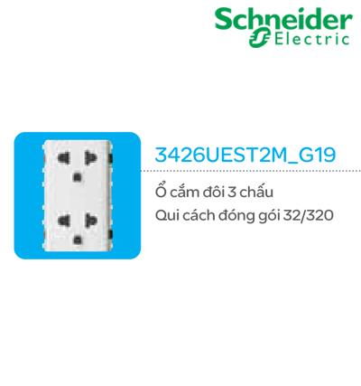 Ổ CẮM SCHNEIDER 3426UEST2M_G19