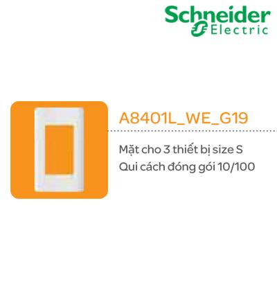 MẶT CÔNG TẮC SCHNEIDER A8401M_WE_G19