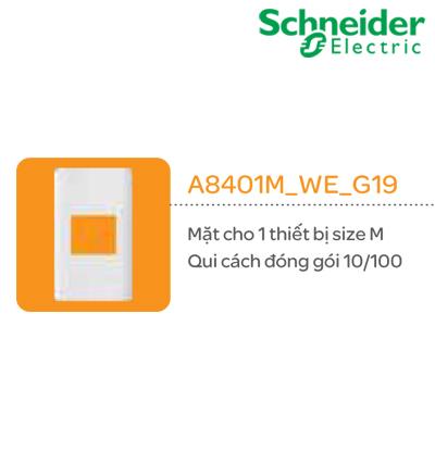 MẶT CÔNG TẮC SCHNEIDER A8401L_WE_G19