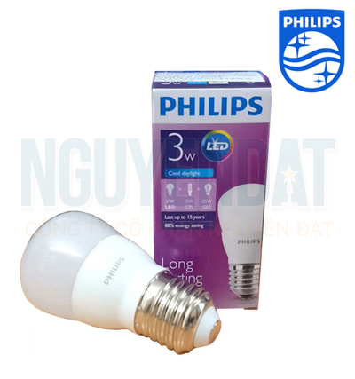 BÓNG ĐÈN LED MINI BULB PHILIPS ESSENTIAL 3W